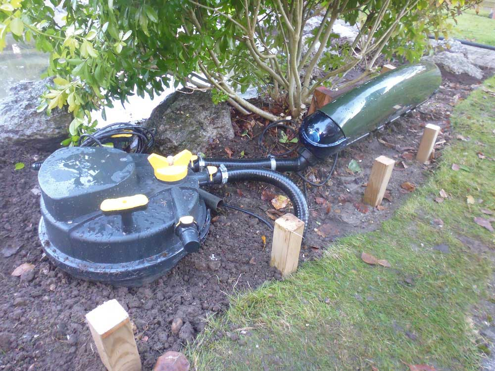 Pond filtration services Surrey